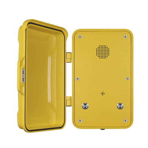 Téléphone VoIP / IP67 / pour applications ferroviaires / pour tunnel JR102-2B J&R Technology Ltd