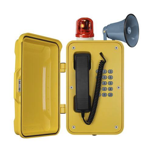 téléphone analogique / VoIP / IP66 / IP67