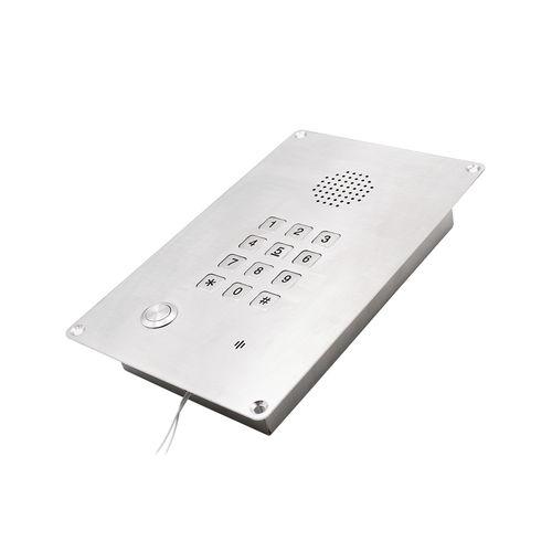 téléphone industriel VoIP / analogique / IP66 / robuste
