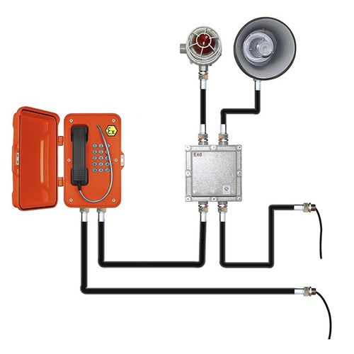 téléphone avec feu à éclats - J&R Technology Ltd