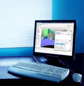 logiciel de gestion / de topographie / de chantier / pour les infrastructures