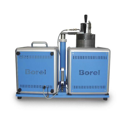 Four à chambre / à cornue rotative / électrique / sous gaz inerte CP 1050 SOLO Swiss & BOREL Swiss