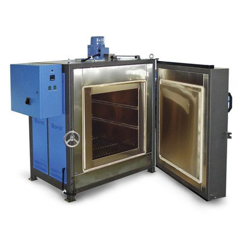 four de traitement thermique / à chambre / électrique / avec circulation d'air