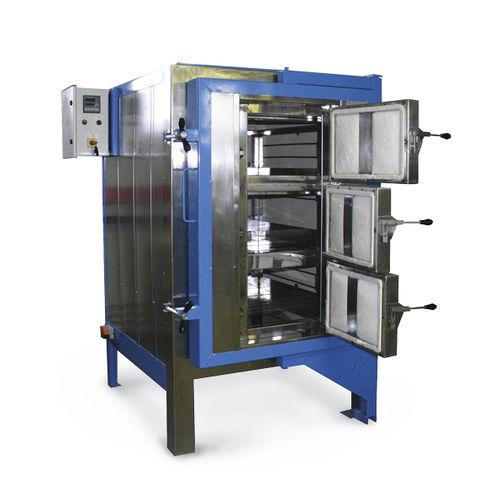 Four à chambre / électrique à résistance / pour l'industrie de la céramique / pour le travail du verre FI 550 SOLO Swiss & BOREL Swiss