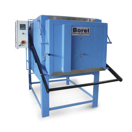 Four de traitement thermique / à chambre / électrique à résistance FI 1250 SOLO Swiss & BOREL Swiss