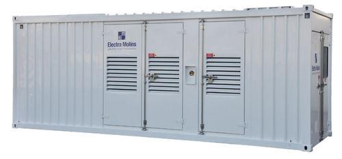 Groupe électrogène diesel / triphasé / en container 1 100 kVA | EMT-1100 ELECTRA MOLINS