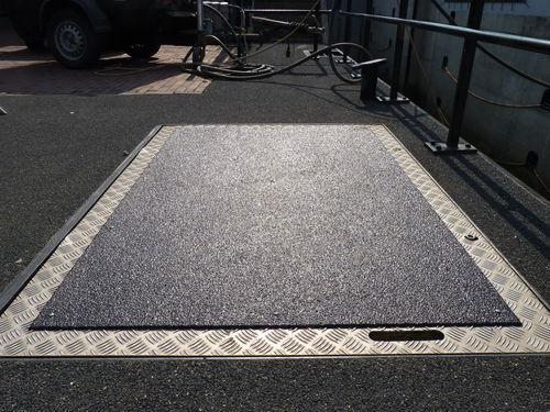 revêtement de sol antidérapant - Haagh Protection BV
