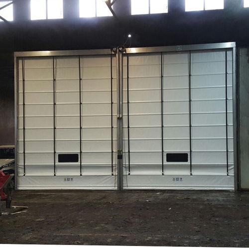 porte à empilement / en acier inoxydable / industrielle / pour l'intérieur