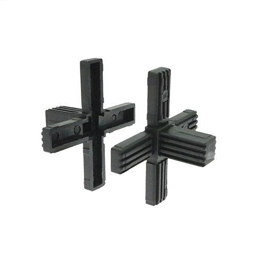 connecteur de tube rond / carré / en plastique / en PP