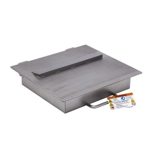 séparateur magnétique à plaque / de liquides / de matériaux secs / à aimants permanents