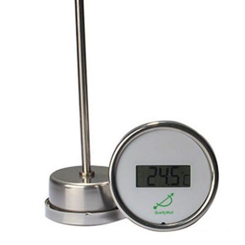 thermomètre numérique / en acier inoxydable