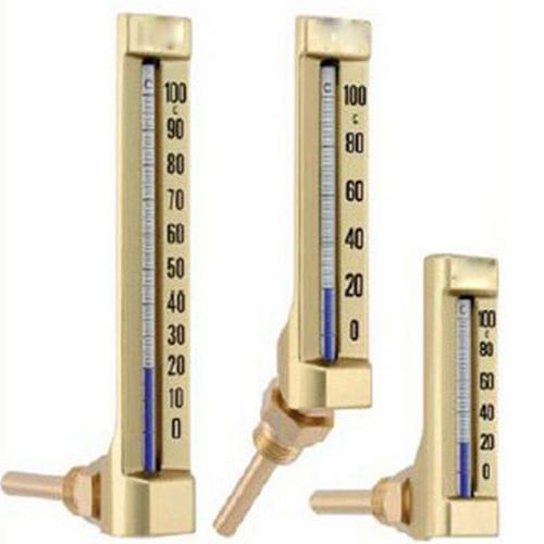 thermomètre à dilatation de liquide / à lecture directe / à insertion / en verre