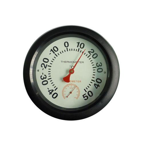 thermo-hygromètre à cadran / à montage mural / température / humidité relative