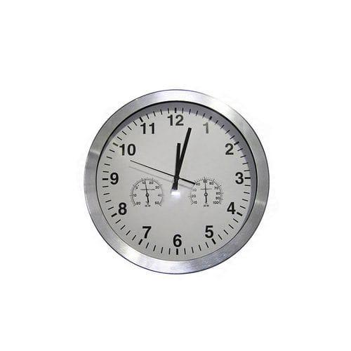 horloge pour l'intérieur / analogique / murale / thermomètre