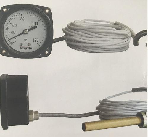 thermomètre à dilatation de gaz à capillaire / à lecture directe