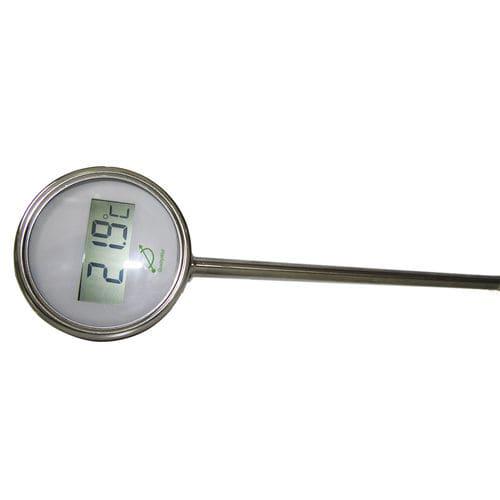 thermomètre à sonde / à résistance / bimétallique / avec afficheur LCD