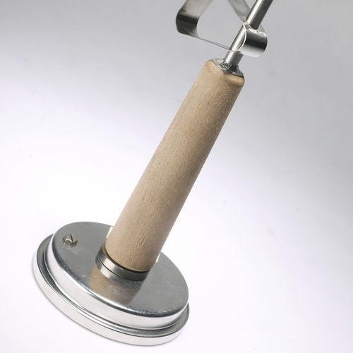 thermomètre bimétallique / à aiguille / en acier inoxydable
