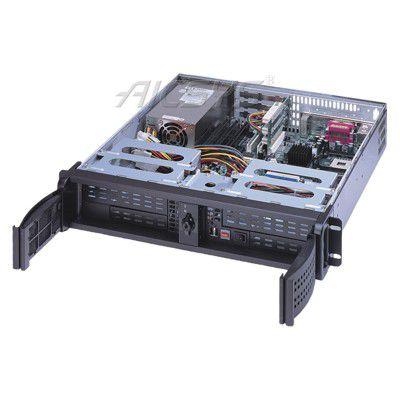 Châssis pc benchtop / rackable / 2U / pour carte mère mini-ITX RCK-204MA AICSYS Inc