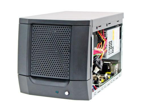châssis compact / mural / pour carte mère mini-ITX / à baie pour disque dur avec verrouillage