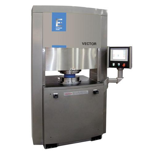 machine de polissage pour métaux / CNC / par écoulement abrasif / d'ébavurage