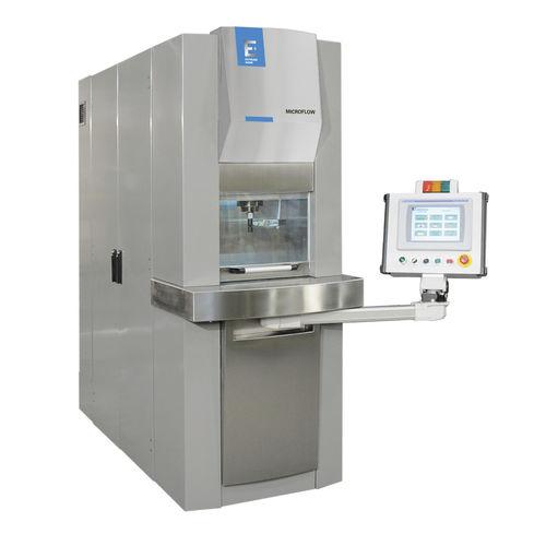 Machine d'hydro-érosion MICROFLOW  Extrude Hone®