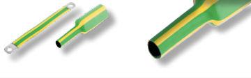 gaine tubulaire / de câbles électriques / thermorétractable / en polyoléfine