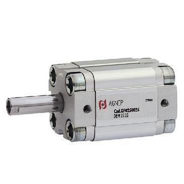 vérin compact / pneumatique / à simple effet / à piston magnétique