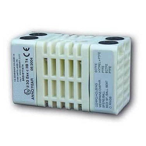 Mini-pompe à double membrane / pour fluide agressif / pneumatique / ATEX BX 5 series Barbera Savino
