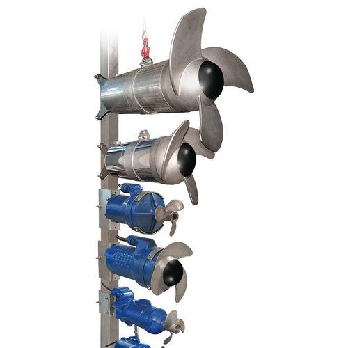Mélangeur à palettes / batch / liquide / solide / submersible EBAMIX series EBARA PUMPS EUROPE