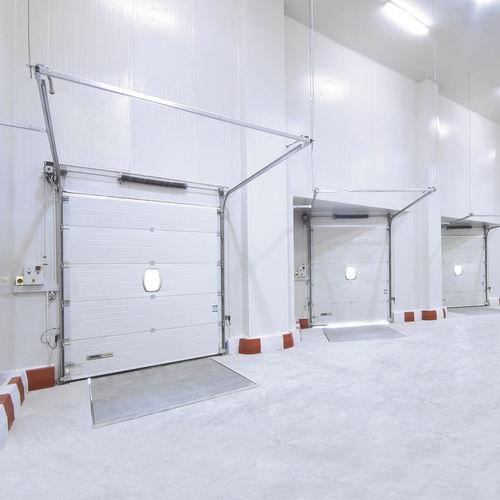 porte sectionnelle / industrielle / de hangar