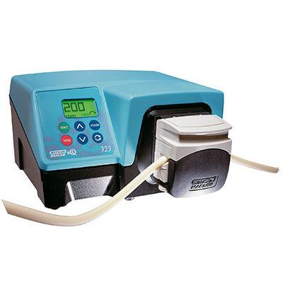 pompe pour produits chimiques / à moteur DC / péristaltique / de laboratoire