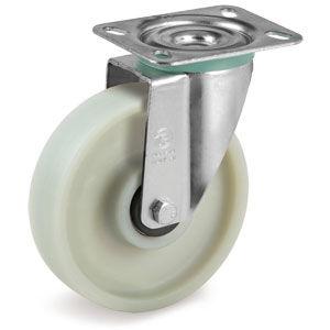 roulette pivotante / à platine / monolithique / en fibre de verre