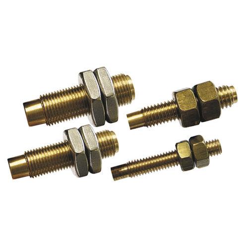 aimant cylindrique / avec filetage mâle / pour l'activation de capteur reed