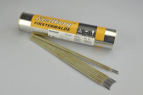 électrode de soudage enveloppée / tige / pour le soudage sous l'eau / DIN 2302