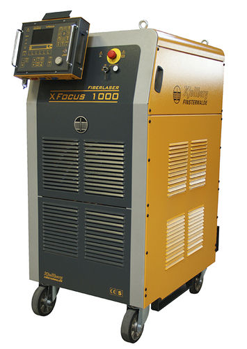 Laser à onde continue / à fibre / froid / pour le marquage XFocus 1000 Kjellberg Finsterwalde