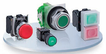 Bouton poussoir à action instantanée / unipolaire Ø 22 mm | Harmony XB4 Schneider Electric - Automation and Control