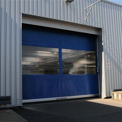 porte à enroulement / industrielle / de hangar / rapide