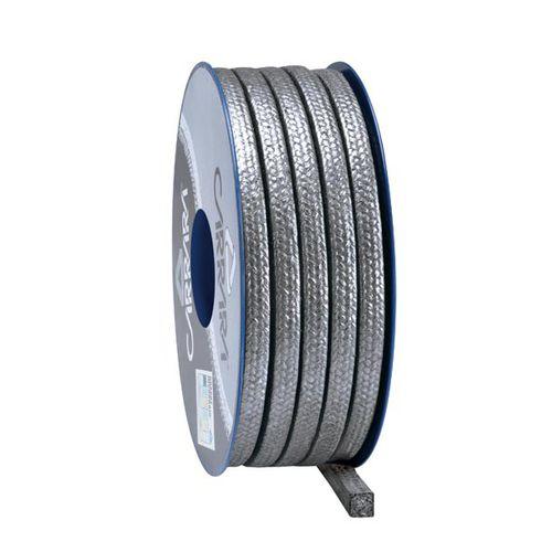 garniture tressée en graphite / en carbone / en fils d'Inconel / à résistance élevée