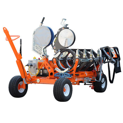 machine de soudage bout à bout / AC / pour tuyau en plastique