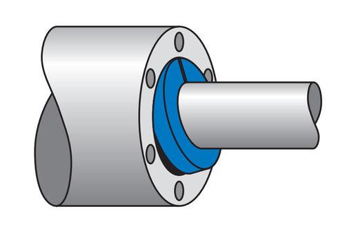 garniture tressée en coton / pour pompe