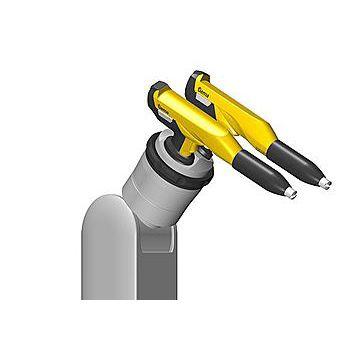 pistolet de poudrage / à peinture / automatique / compact