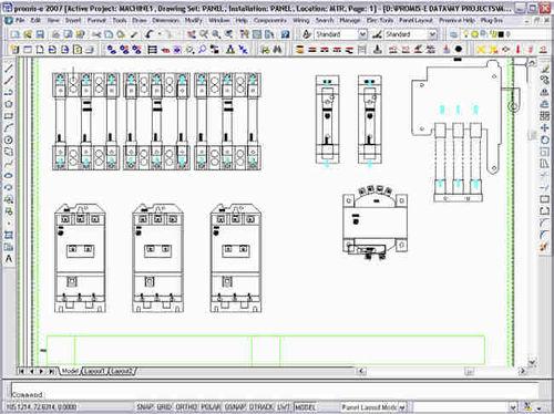Logiciel de CAO électrique Promis.e Bentley Systems Europe B.V.