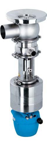 vanne à membrane radiale / pour l'eau / de fond de cuve