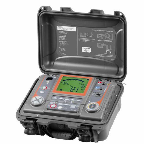 Testeur de la résistance et de la continuité d'isolement / d'installation électrique / de câbles / numérique MIC-5010 Sonel S.A.