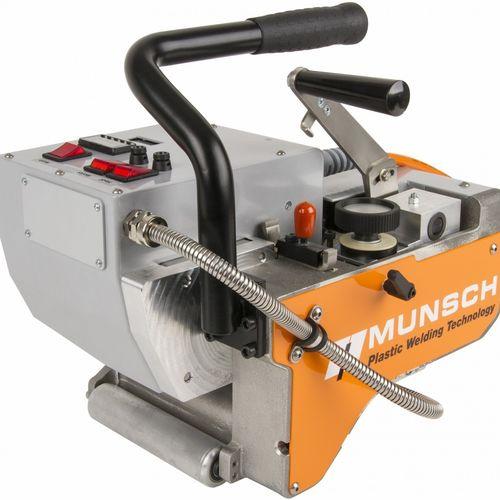machine de soudage par coin chauffant / manuelle / compacte / pour PVC