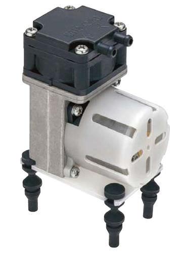 Pompe à vide à membrane / mono-étagée / sans huile 5 l/min | DP 0102 Nitto Kohki Deutschland
