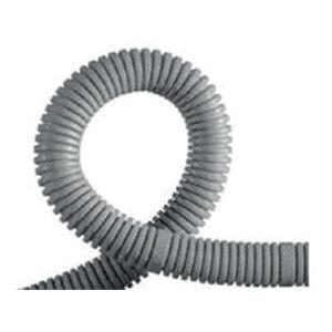 gaine annelée / de câbles électriques / de protection / en plastique