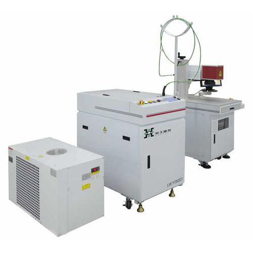 machine de soudage laser à fibre / automatique