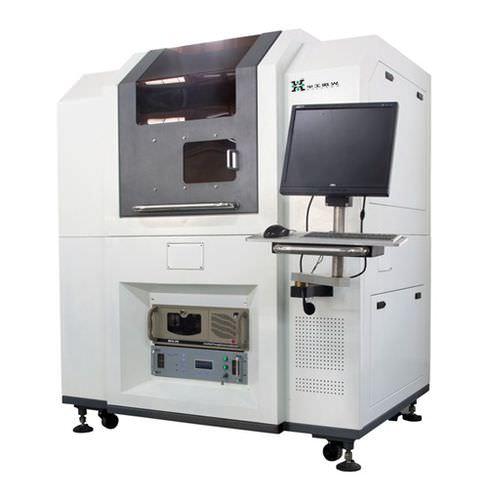 machine de découpe pour matières plastiques / laser UV / de wafer / CNC