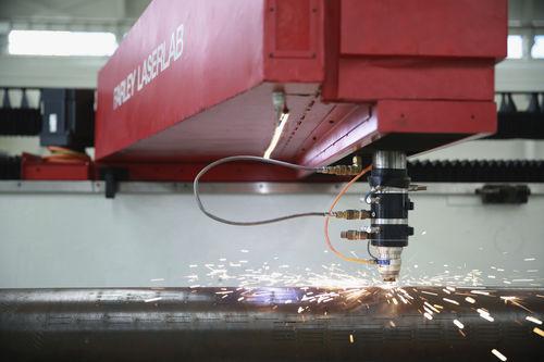 Machine de découpe d'acier / laser / CNC / pour tube en acier rainuré Farley Laserlab